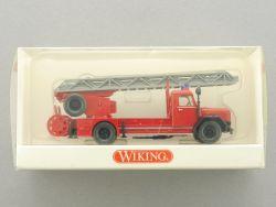 Wiking 8623739 Magirus DL 25h Feuerwehr Drehleiter NEU OVP
