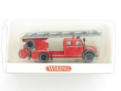 Wiking 8624039 Magirus Deutz Feuerwehr Drehleiter DL 25h NEU OVP