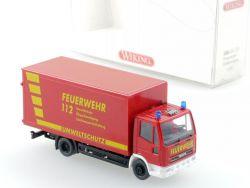 Wiking 6060133 Iveco Feuerwehr Gerätewagen Umweltschutz NEU! OVP