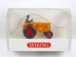 Wiking 8770221 Fahr Schlepper Trakor orange 1:87 NEU! OVP