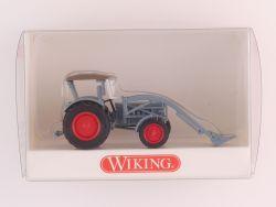 Wiking 8710231 Eicher-Königstiger Traktor Dach und Schaufel  OVP