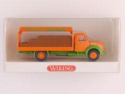 Wiking 8480236 Magirus Mercur Getränkewagen Frucht-Limonade OVP