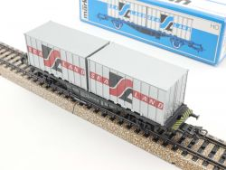 Märklin 4668 Containerwagen Sealand DB 042 0 606-4 TOP! OVP