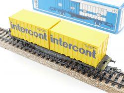 Märklin 4670 Containerwagen DB 042 0 606-4 Intercont NEU! OVP