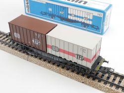 Märklin 4664 Containerwagen Güterwagen DB TFG NEU! OVP