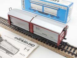 Märklin 4633 Schiebewandwagen Güterwagen Tbis 870 DB 1977 OVP
