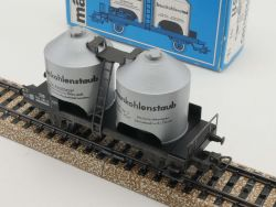 Märklin 4511 Kohlenstaub-Güterwagen Braunkohlenstaub DB TOP! OVP