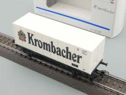 Märklin 4481.009 Containerwagen Krombacher SoMo unbespielt! OVP
