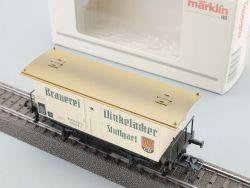 Märklin 48283 Bierwagen Dinkelacker Stuttgart Länderbahn NEU OVP
