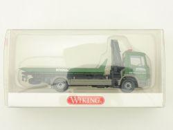 Wiking 6360135 MB Mercedes Kroll Abschleppwagen Ladekran OVP