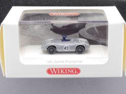 Wiking 1670130 Porsche Spyder 50 Jahre Fahrer PC 1:87 NEU! OVP