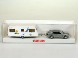 Wiking 0630237 MB Mercedes CLK Wohnwagen Kids 1:87 NEU! OVP