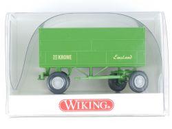 Wiking 3884017 Landwirtschaftlicher Anhänger Krone Emsland OVP