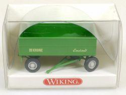 Wiking 3880117 Landwirtschaftlicher Anhänger Krone Emsland OVP