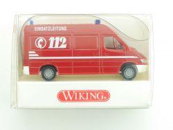 Wiking 6080227 MB Sprinter ELF 1 Feuerwehr Einsatzleitung NEU OVP