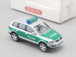 Wiking 1042532 Volkswagen VW Touareg Polizei Modell H0 NEU! OVP