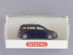 Wiking 3054030 Volkswagen VW Touran dunkelblau 1:87 NEU! OVP