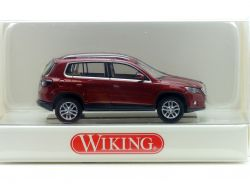 Wiking 00680130 VW Volkswagen Tiguan wildcherry 1:87 NEU! OVP