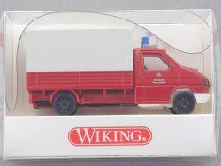Wiking 6010325 Feuerwehr VW Transporter Pritsche/Plane NEU! OVP