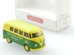 Wiking 7973727 VW T1 Bus John Deere Lanz Kundendienst NEU OVP