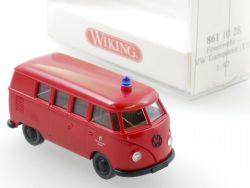 Wiking 8611028 Volkswagen VW T1 Bus Feuerwehr Berlin NEU! OVP