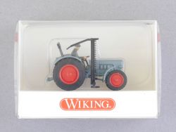 Wiking 8713929 Eicher-Königstiger Traktor Fahrer Mähwerk NEU OVP
