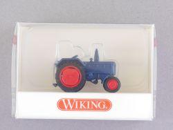 Wiking 8820225 Lanz D2016 Bulldog Traktor blau 1:87 NEU! OVP