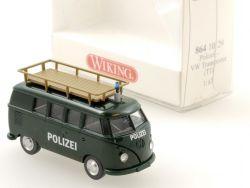 Wiking 8641029 Volkswagen VW T1 Polizei Transporter NEU! OVP