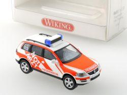 Wiking 06011433 Volkswagen VW Touareg Feuerwehr Notarzt NEU OVP