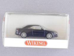 Wiking 1324030 Audi A4 Cabriolet geschlossen blau 1:87 NEU! OVP