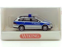 Wiking 01043933 VW Volkswagen Golf Variant Polizei 1:87 NEU! OVP