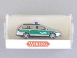 Wiking 1042733 Volkswagen VW Passat Polizei grün-silber NEU! OVP