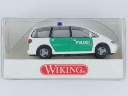 Wiking 1040727 Ford Galaxy Polizei Modellauto 1:87 NEU! OVP