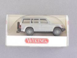 Wiking 2630320 Mitsubishi Pajero silber-metallic 1:87 H0 NEU OVP