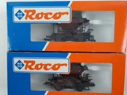 Roco 46130 Konvolut 2x Talbot Schotterwagen DRG gealtert OVP
