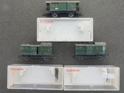 Fleischmann Konvolut 3x Packwagen DRG  z.B. 5302 K gesupert  OVP