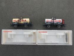 Fleischmann 2x Kesselwagen 5420 K 5431 K gesupert KKK OVP
