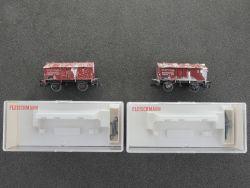 Fleischmann 5213 K Konvolut 2x Klappdeckelwagen gesupert KKK OVP