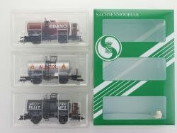 Sachsenmodelle 14101 Kesselwagen-Set Reichsbahn Ep.II KKK  OVP