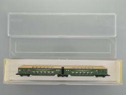 Minitrix 13389 Doppelstockwagen 2. Kl DBx DR DDR Spur N TOP! OVP