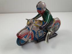 MS 702 Motorcycle Blechspielzeug Uhrwerk Motorrad China älter