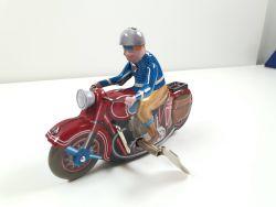Indian? Harley? Motorcycle Blechspielzeug Uhrwerk Motorrad