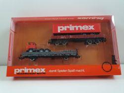 Märklin 4594 Primex 2x Wagen Wiking Scania LKW ungeöffnet NEU OVP