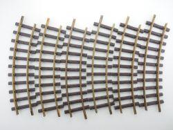 Lehmann 11000 LGB 6x Gebogenes Gleis 1100 Schienen Funktion OK