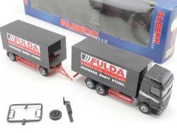Albedo 250150 Mercedes MB Hängerzug Fulda LKW Truck NEU RAR! OVP