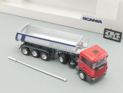 AWM SCania Kippsattelzug Muldenkipper Hardox Werbemodell NEU OVP