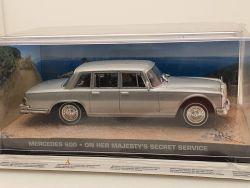 James Bond Collection #32 Mercedes MB 600 W 100 007 MIB OVP