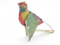 Blechspielzeug Vogel Stimme ungemarkt älter Japan? China? SG