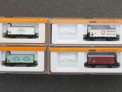 Arnold Konvolut 4x Güterwagen 0427 4267 4279 4411 schön! OVP