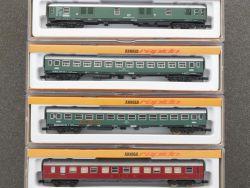 Arnold Konvolut 4x Personenwagen 0322 0324 0329 3221 DB Spur N OVP